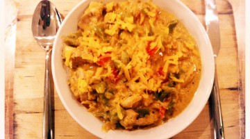 Indian-British Fusion Chicken Curry