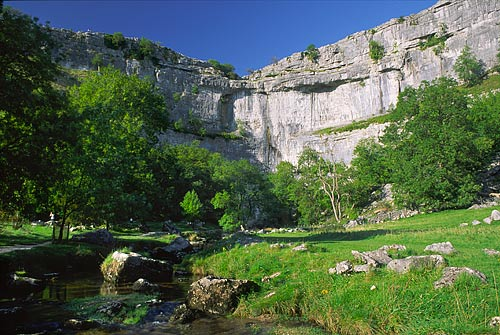 Walking destination Malham Cove