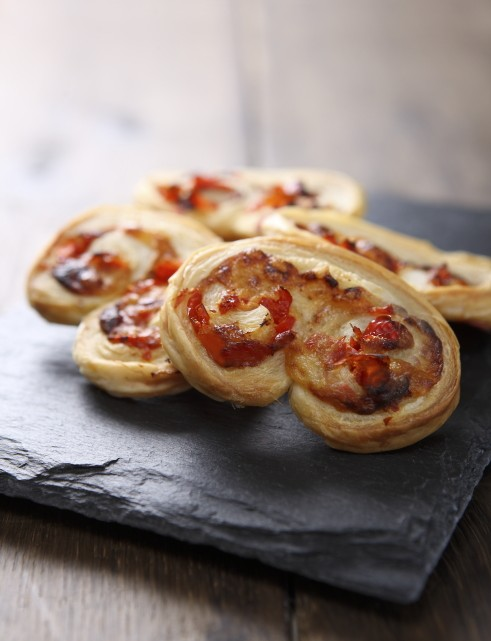 Applewood cheese palmiers