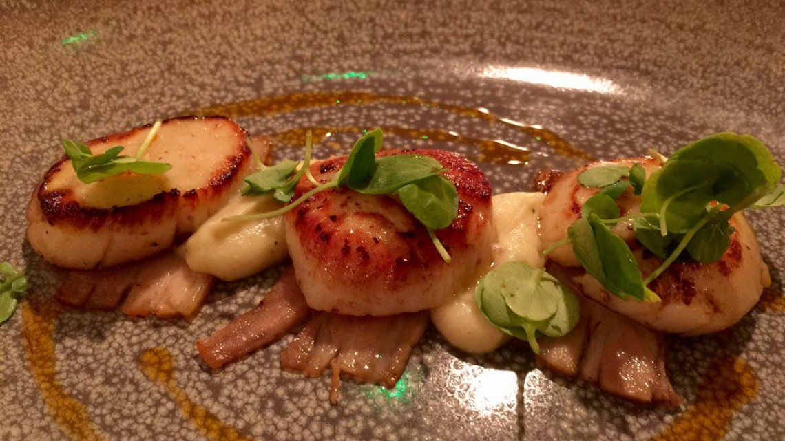Scallops at Smith and Baker