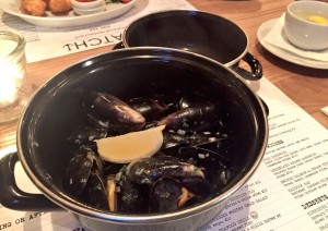 Mussels at Catch Halifax