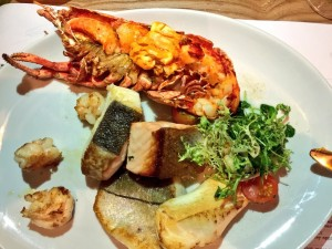 Grilled Seafood at Catch Halifax