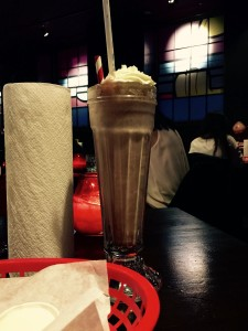 Milkshake at Almost Famous