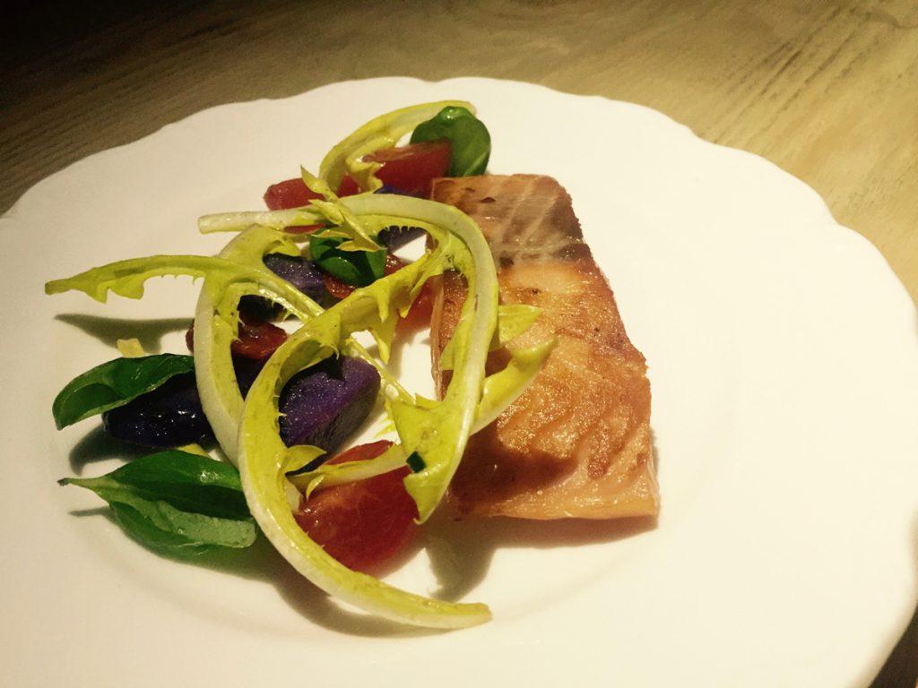 Salmon Dish at Mr Nobody