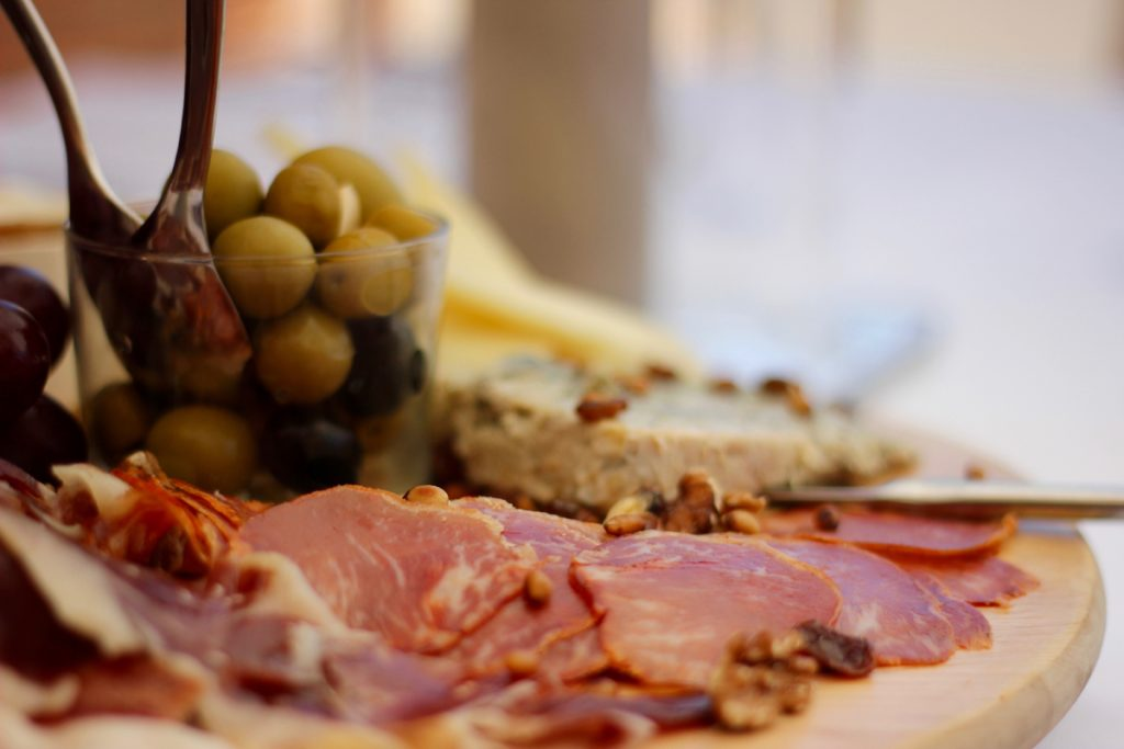 Ham and Cheese Platter at Club Costa World