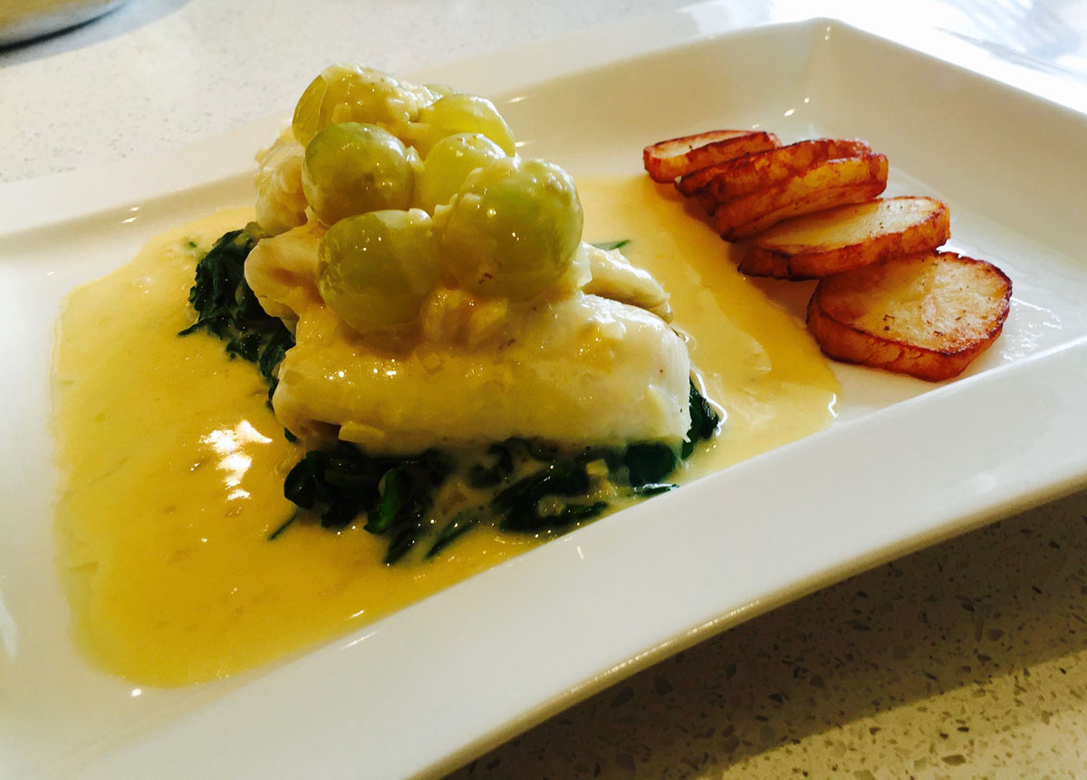 Sole fish dish at Ashburton