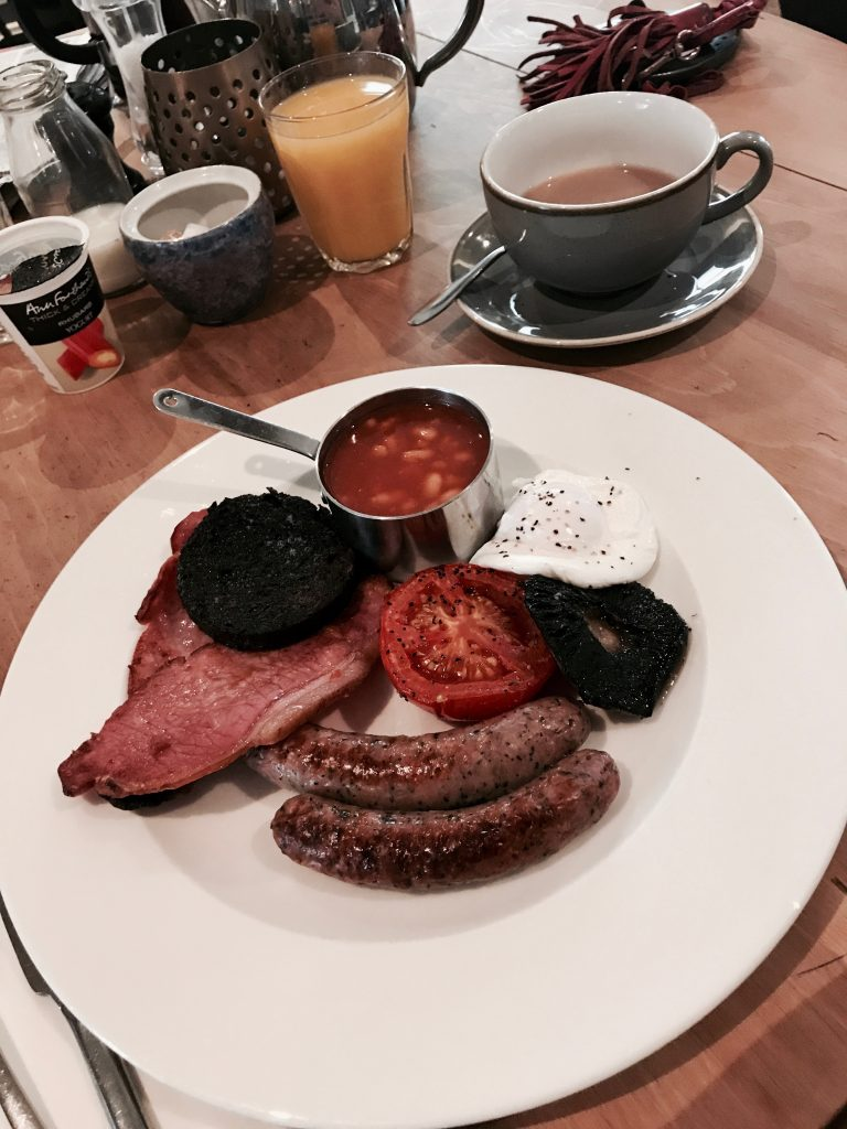 Breakfast at The Plough