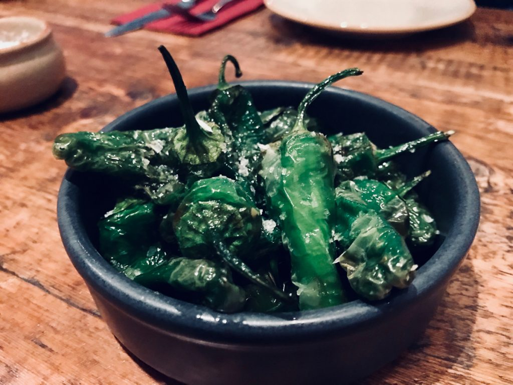 Padron Peppers at Hito