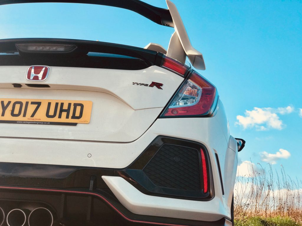 Back of the Type R