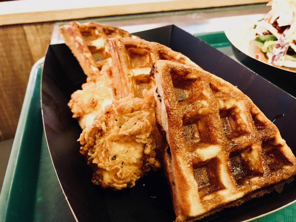 Waffles at Absurd Bird