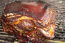 Autumn Smoked Pork Shoulder