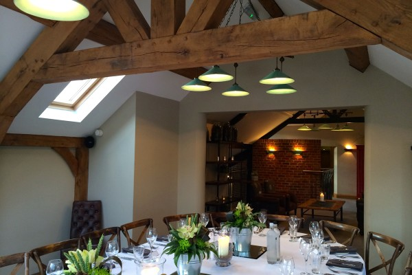 Private Dinning Area at The Blacksmiths Clayworth