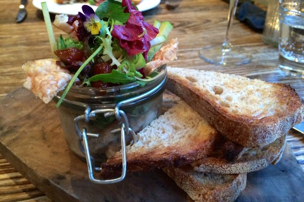 Lincolnshire pork belly at The Blacksmiths Clayworth