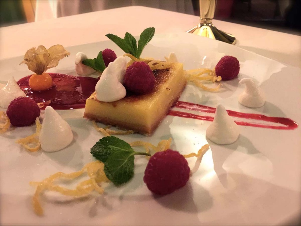 Lemon Tart at the 3 Acres