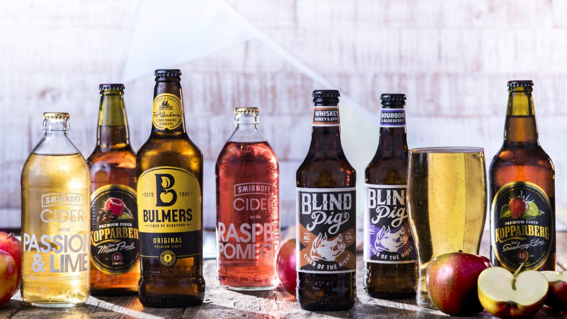 Sizzling Pubs Cider Selection