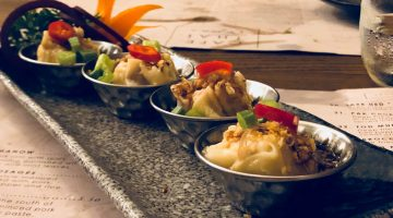 Dumplings at Cafe Thai