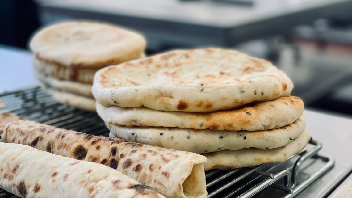 Flatbreads at The School of Artisan Food