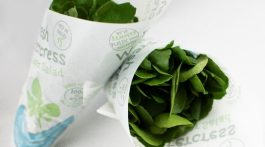 Watercress in packaging